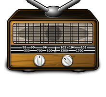 Old School Radio by kwg2200