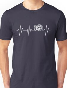 Camera Heartbeat Unisex T-Shirt