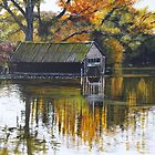 The Boat Shed by Paula Oakley