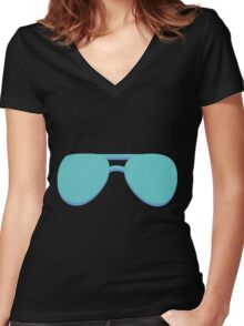 Aviators Women's Fitted V-Neck T-Shirt