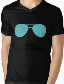 Aviators and Tash Mens V-Neck T-Shirt