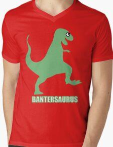 Bantersaurus Mens V-Neck T-Shirt