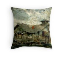 Old Schoolhouse Outside Twin Falls, Id. Throw Pillow