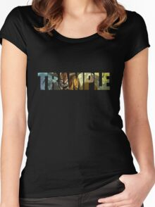 Trample Women's Fitted Scoop T-Shirt