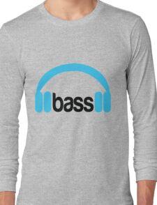 Bass Headphones Long Sleeve T-Shirt