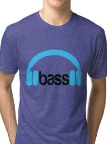 Bass Headphones Tri-blend T-Shirt