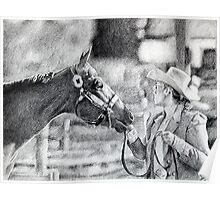 Amateur Showmanship Quarter Horse Poster