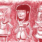 3 Girls Tales by Mike Cressy