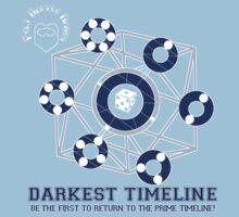 Darkest Timeline: The Game! Kids Tee