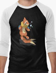 Cutout Buizel Men's Baseball ¾ T-Shirt