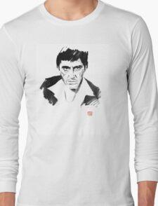 tony montana Long Sleeve T-Shirt