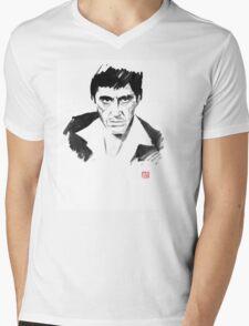 tony montana Mens V-Neck T-Shirt