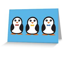 Trio Greeting Card