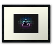Darren Matrix Framed Print