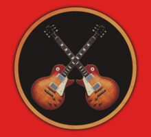 Les Paul 1959 Sign decoration Clothing & Stickers by goodmusic