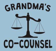 Grandma's Co-Counsel Kids Tee