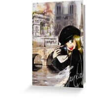 Paris my Way Greeting Card