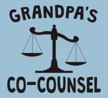 Grandpa's Co-Counsel Baby Tee