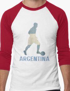 Argentina Men's Baseball ¾ T-Shirt