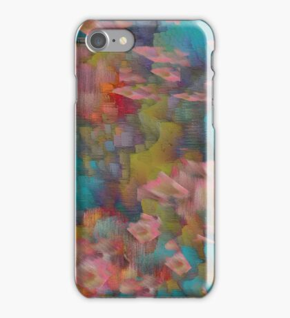 Dripping Colors 3 iPhone Case/Skin