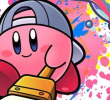 Kirby is a true artist Sticker