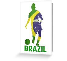 Brazil Greeting Card