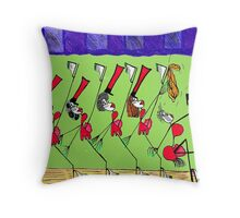 Annual Holiday Show Stopper Throw Pillow
