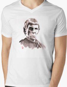 spock Mens V-Neck T-Shirt