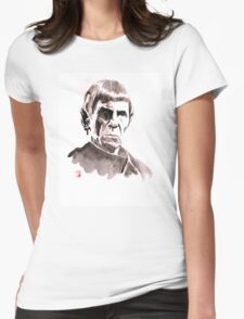 spock Womens Fitted T-Shirt