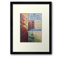 Spring to Broadway Framed Print