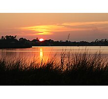 Sunset on the Bayou Photographic Print