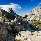 Panorama of Dolomites by peterwey