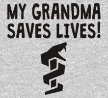 My Grandma Saves Lives One Piece - Long Sleeve