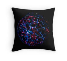 Mosaic Sphere Throw Pillow
