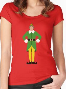Elf  Women's Fitted Scoop T-Shirt