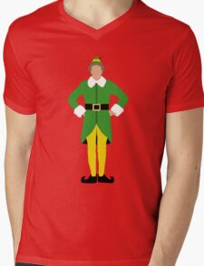Elf  Mens V-Neck T-Shirt