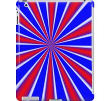 iPad Case Red White and Blue Stripes iPad Case/Skin