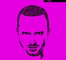 Jesse Pinkman Purple by seanings