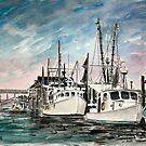 boats nautical art print by derekmccrea