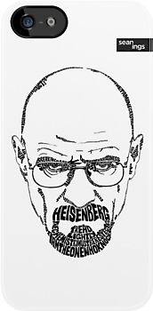 Walter White aka Heisenberg Black by seanings