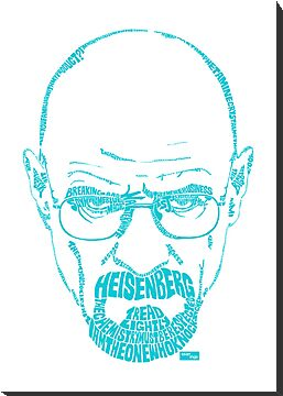 Walter White aka Heisenberg Meth Blue by seanings