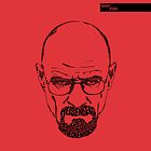 Walter White aka Heisenberg Red by seanings