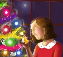 The Girl & the Angel of the Tree by RidleyWood