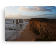 Sunset over the Twelve Apostles 2 Canvas Print