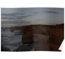 Sunset over the Twelve Apostles 3 Poster