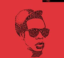 Jay Z Red by seanings