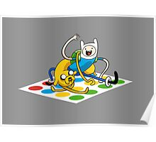Adventure Time Twister Poster
