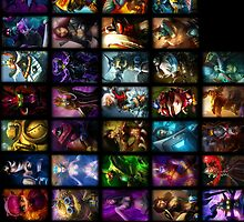 League of Legends by ILoveLamps