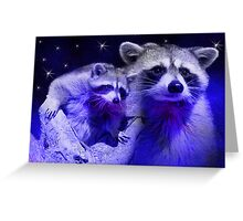 Dream Raccoon2 Greeting Card