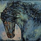 Friesian Stallion by Michael Creese